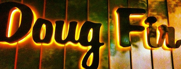 Doug Fir Lounge is one of Portland.
