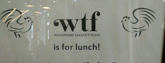 Woodward Takeout Food is one of Mimi 님이 좋아한 장소.