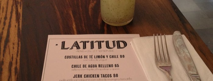 Latitud is one of Pa'comer.