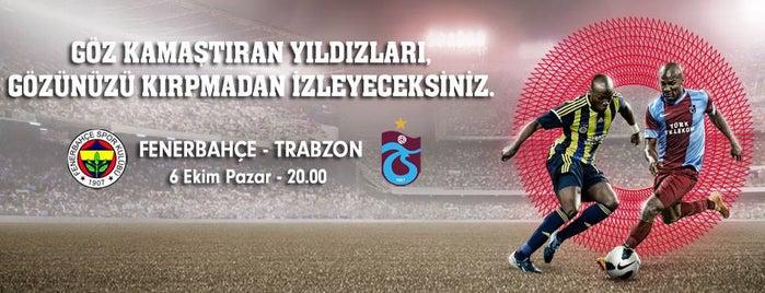 Ülker Stadyumu Fenerbahçe Şükrü Saracoğlu Spor Kompleksi is one of Rukiye'nin Kaydettiği Mekanlar.