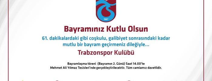 Trabzonspor Mehmet Ali Yılmaz Tesisleri is one of BORDO MAVİ MEKANLAR.