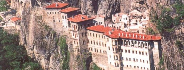 Monasterio de Sumela is one of Lugares favoritos de Trabzonspor Fun Club.