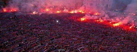 19 Mayıs Stadyumu is one of Tempat yang Disimpan Serdar Melikşah.