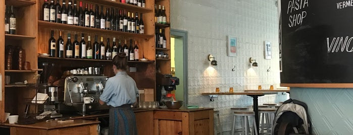 LaRina Pastificio & Vino is one of Brooklyn Restos.