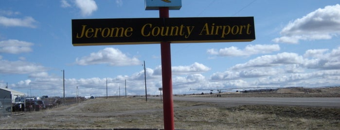 Jerome County Airport (JER) is one of Airports.