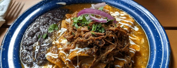 Catrinas Chilaquiles is one of i'ñor!.