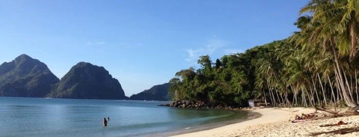 Las Cabanas Beach Resort is one of Palawan.