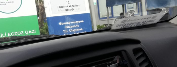 TÜVTÜRK Araç Muayene İstasyonu is one of EGE Oto Kiralama/Rent A Carさんのお気に入りスポット.