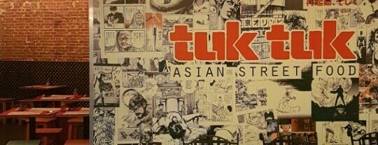 Tuk tuk is one of Santiagoさんのお気に入りスポット.
