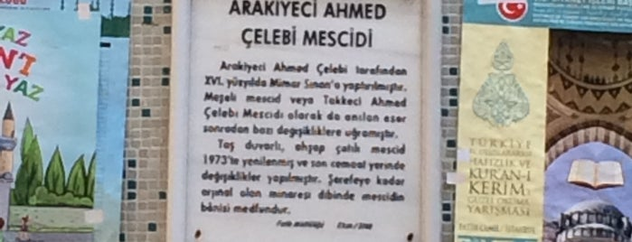 Arakiyeci Ahmet Çelebi Camii is one of 3-Fatih to Do List | Spiritüel Merkezler.