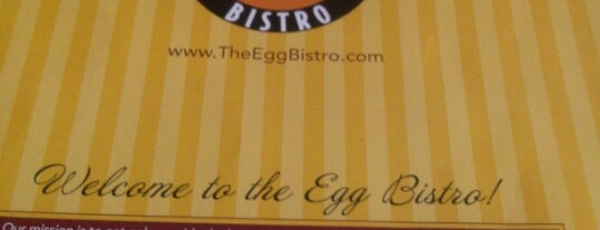 The Egg Bistro is one of Tempat yang Disukai Charles.