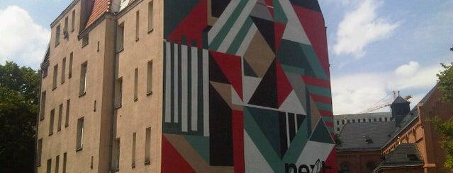 Mural na Kościelnej 4 is one of Murale festiwalu Outer Spaces w Poznaniu.