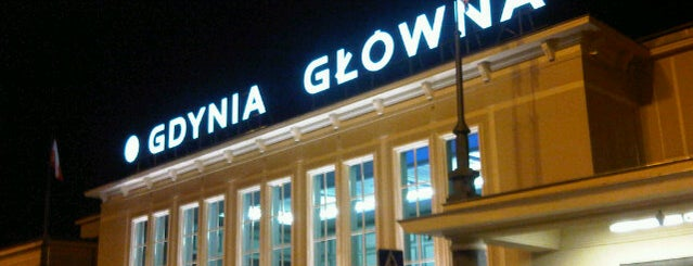 Gdynia Główna is one of Lieux qui ont plu à Ann.