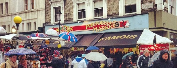 Portobello Road Market is one of Pleasure Spots in the UK.