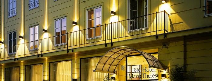 K+K Hotel Maria Theresia Vienna is one of Lieux qui ont plu à Winda.