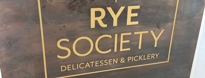 Rye Society is one of Denver.