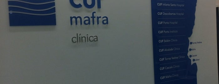 CUF Mafra is one of Locais curtidos por Paulo.