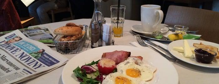 Mistral Café Restaurant is one of prague.