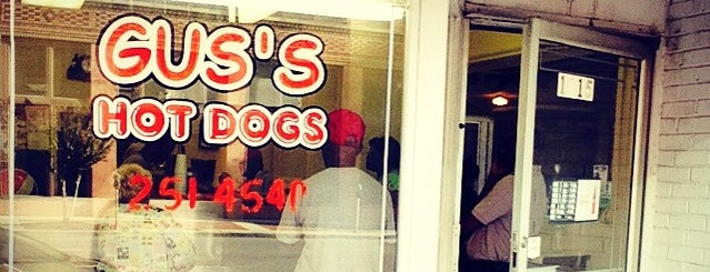Gus's Hot Dogs is one of Best of Birmingham.