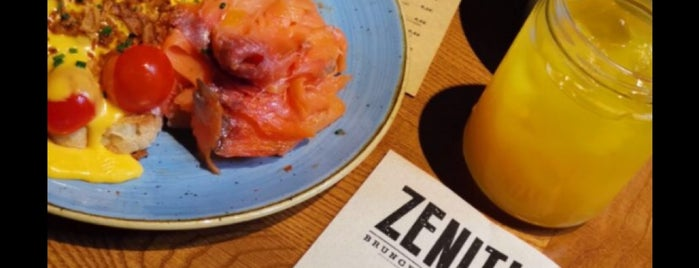 Zenith Brunch & Cocktail is one of Luisさんのお気に入りスポット.