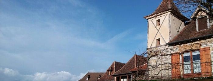 Loubressac is one of Les plus beaux villages de France.