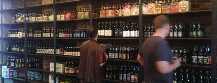 St. Gambrinus Beer Shoppe is one of new hood whaddup.