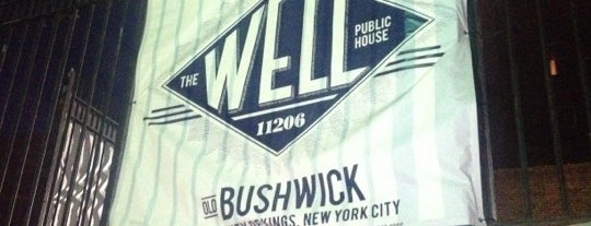 The Well is one of Bars nyc.