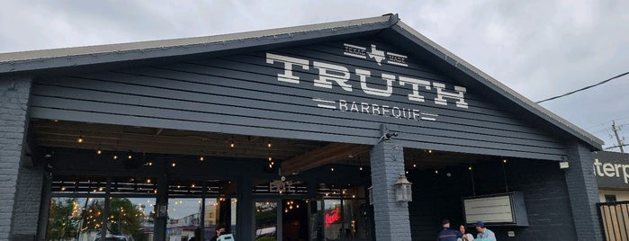 Truth Barbeque is one of BBQ_US All States.