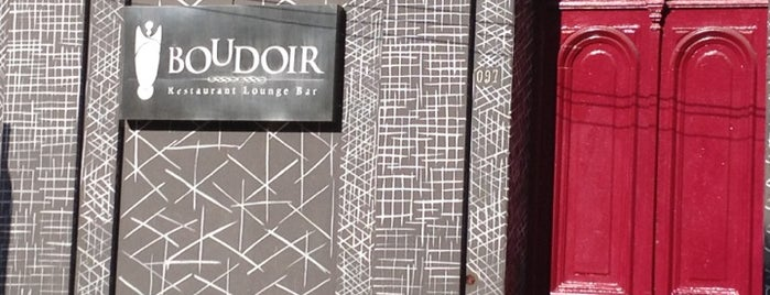 Bar Boudoir is one of Locais salvos de Ana.