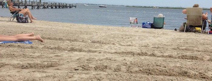Somers Point Beach is one of John : понравившиеся места.