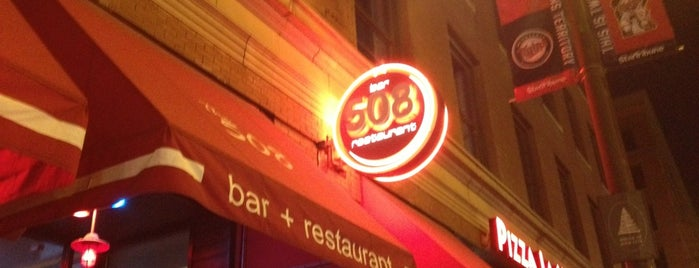 508 Bar + Restaurant is one of Locais curtidos por Brooke.