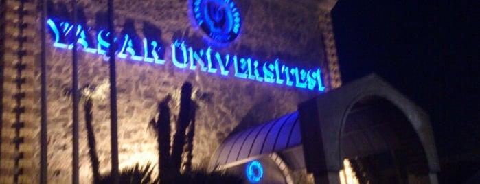 Yaşar Üniversitesi is one of Mekanlar.