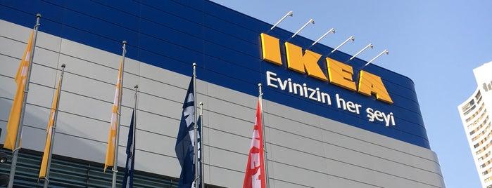 IKEA is one of สถานที่ที่ halil ถูกใจ.