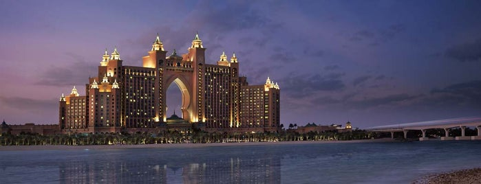 Atlantis The Palm is one of The Ultimate Guide to Dubai.