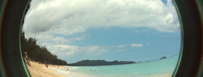 Lanikai Beach is one of Cagla : понравившиеся места.