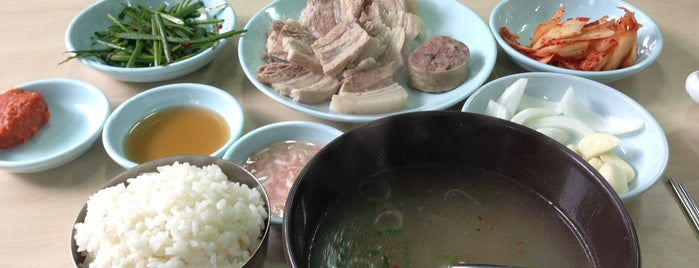 할매국밥 is one of 부산.