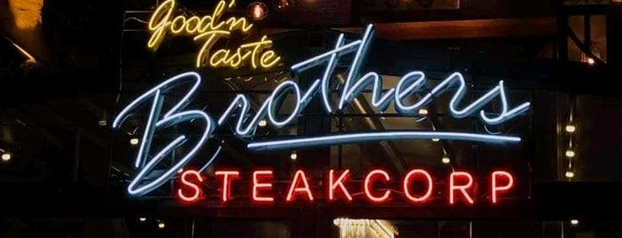 Brothers Steakcorp is one of Yeşilköy & Beylikdüzü Civarı & Bahçeşehir.