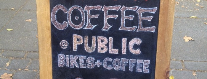 St. Frank @ Public Bikes is one of Third Wave Coffee.