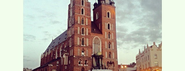 Plac Mariacki is one of Krakow.