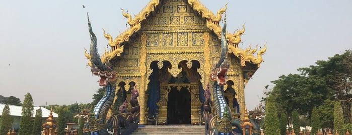 Wat Rong Suea Ten is one of Chiang rai jaoo.