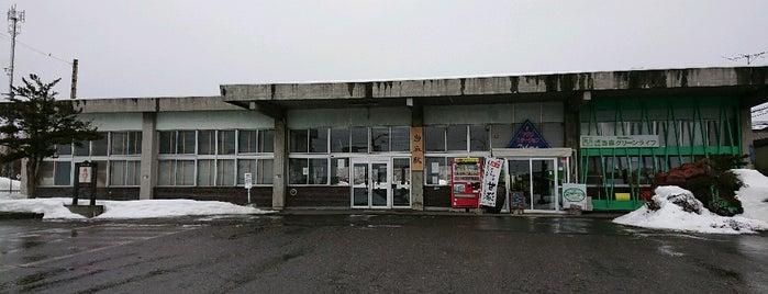 Tōma Station is one of JR 홋카이도역 (JR 北海道地方の駅).