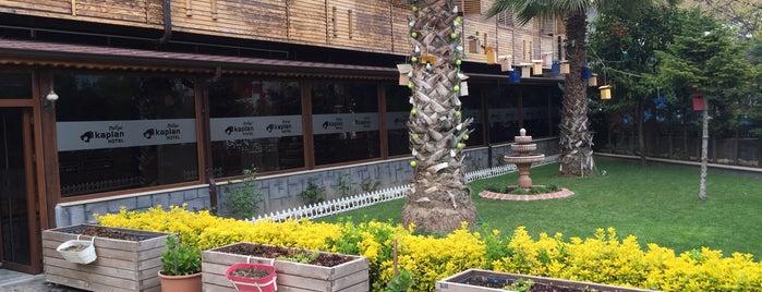 Tirilye Kaplan Hotel is one of trilye mekanları.