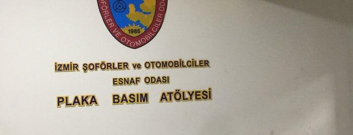 İzmir Şoförler Ve Otomobilciler Esnaf Odası is one of Orte, die Abdullah gefallen.