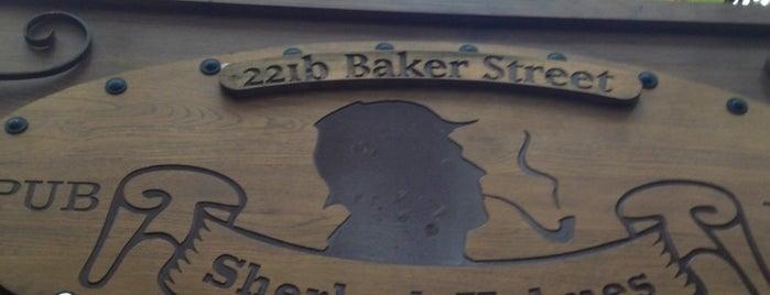 Sherlock Holmes Pub is one of Posti che sono piaciuti a Manos.