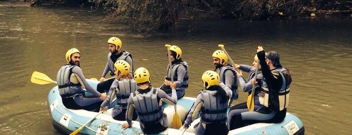 Melen Macera Rafting Tesisi is one of Posti che sono piaciuti a Aykut.