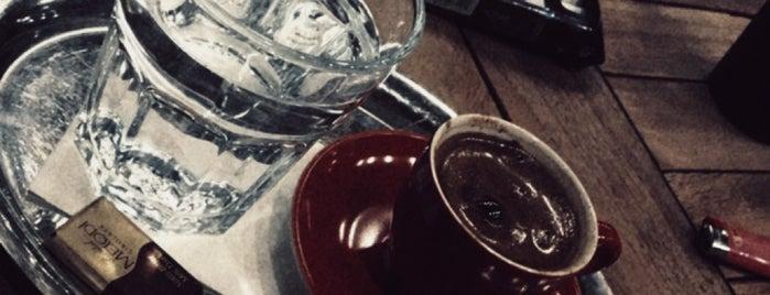 Bahcelievler caffemania is one of สถานที่ที่ Fatih ถูกใจ.