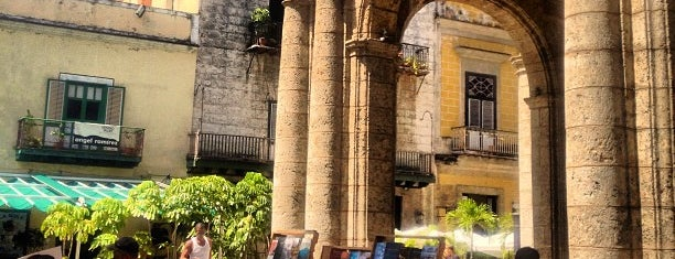 Plaza de Armas is one of CUBA i.