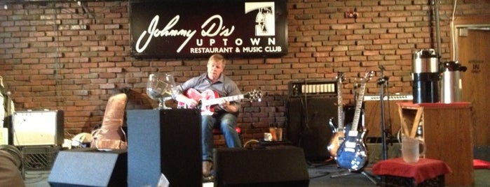 Johnny D's Uptown Restaurant & Music Club is one of MA Sunday Events - Open Mics In New England.