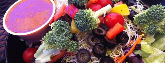 The Big Salad Shop is one of Vegan.
