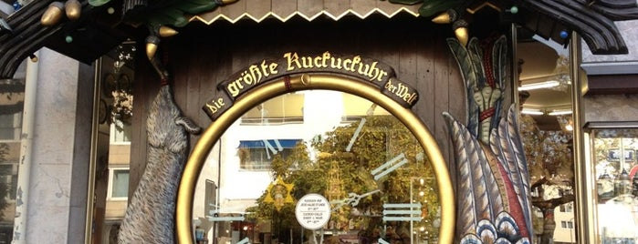 """Die größte Kuckucksuhr der Welt"" is one of A local's guide: 48 hours in Wiesbaden."